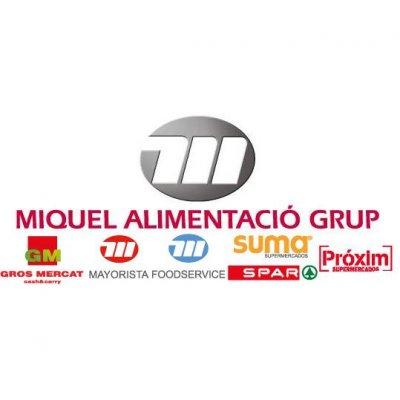 Logo-Grupo-Miquel, cliente de Construcciones Olano